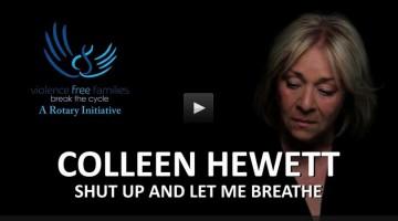 """Colleen Hewett's 'Let me Breathe"""""""