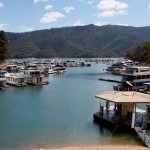 Harbours like this cater for hundreds of houseboats