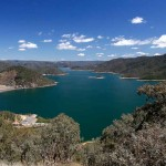 Lake Eildon and the dam from Mt Pinninger Lookout