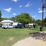 Fort Courage Caravan Park on the old Renmark Road out of Wentworth is an oasisi in the red desert