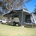 Tent style outdoor