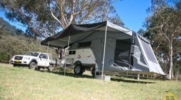 Cub Spacevan Drover Offroad Camper Trailer
