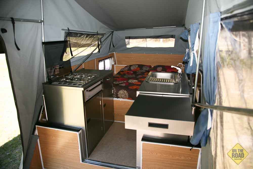 Cub Spacevan Drover Offroad Camper Trailer On The Road