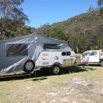 external view of Cub Spacevan Drover Offroad Camper Trailer