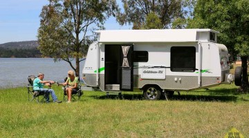 "Goldstream RV 16'6"" FKST Aussie Adventure Pack"