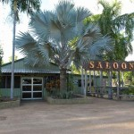 The Saloon bar and restaurant at the Pt Stuart Wilderness Lodge.