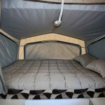 queen size bed in Goldstream RV Gold Storm RL Vacationer 3