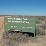 The self guided tour is a great way to explore Mungo