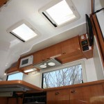 The Suncamper is equally at home on the road