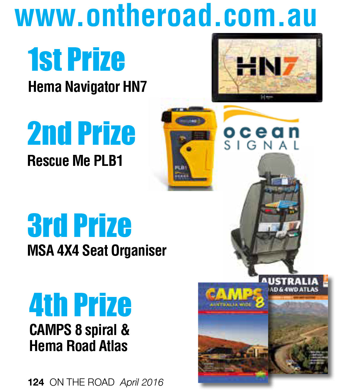 On The Road Jigsaw Competition - Prizes