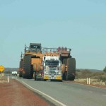 A wide load - Great Northern Highway - near Kumarina Roadhouse, WA (1)