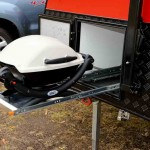 Outdoor cooking is easy with the Weber.