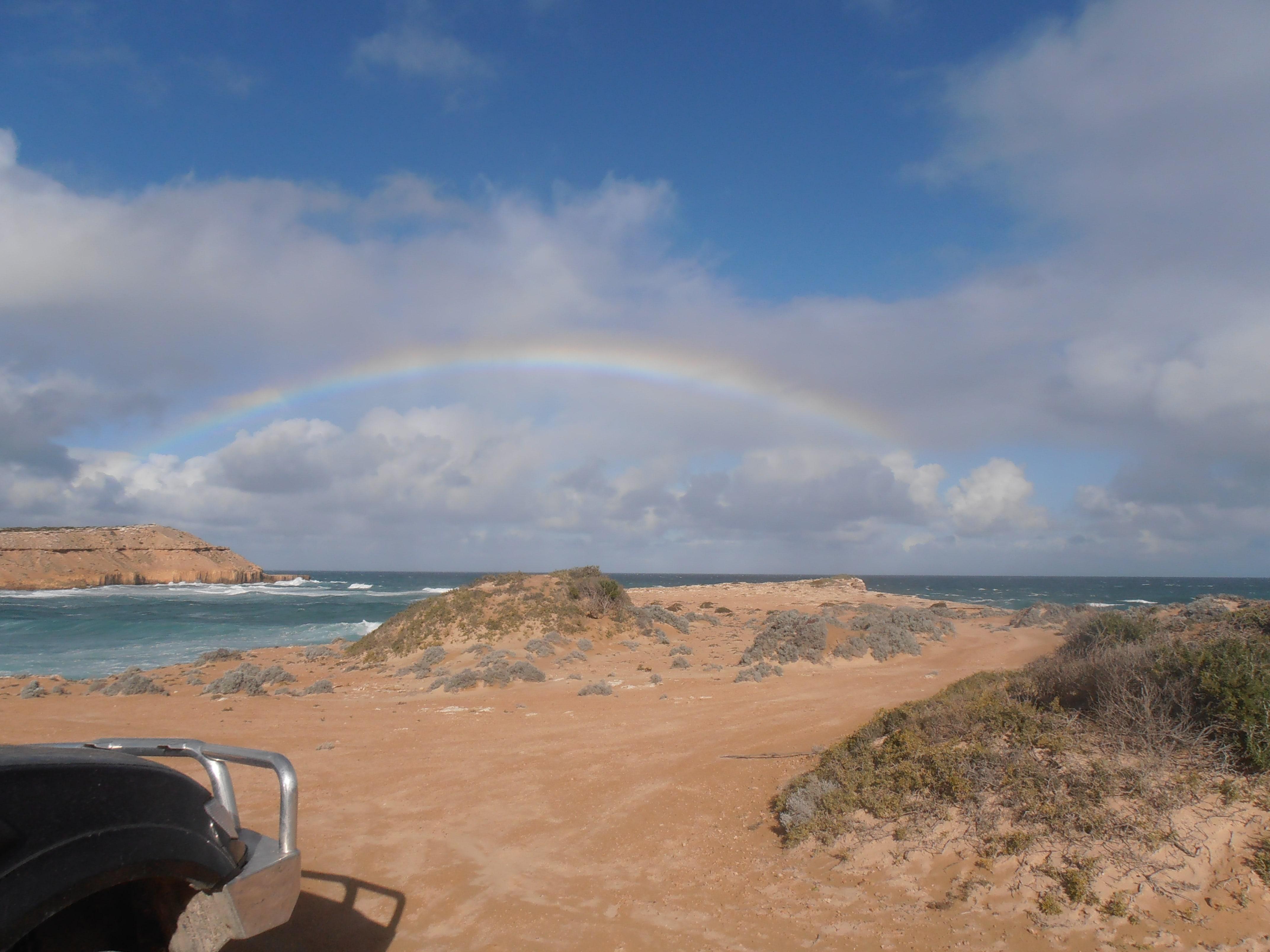 Rainbow Comp Jan Mcloughlin On The Road