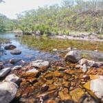 Sandy Creek downstream from Tjaynera Falls