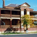 Bourke has several fine old colonial buildings