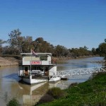 The paddle steamer SS Jandra at Bourke--- worth a trip