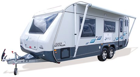 Lunagazer J24 Series Caravan - Jurgens Caravans - On The Road Magazine