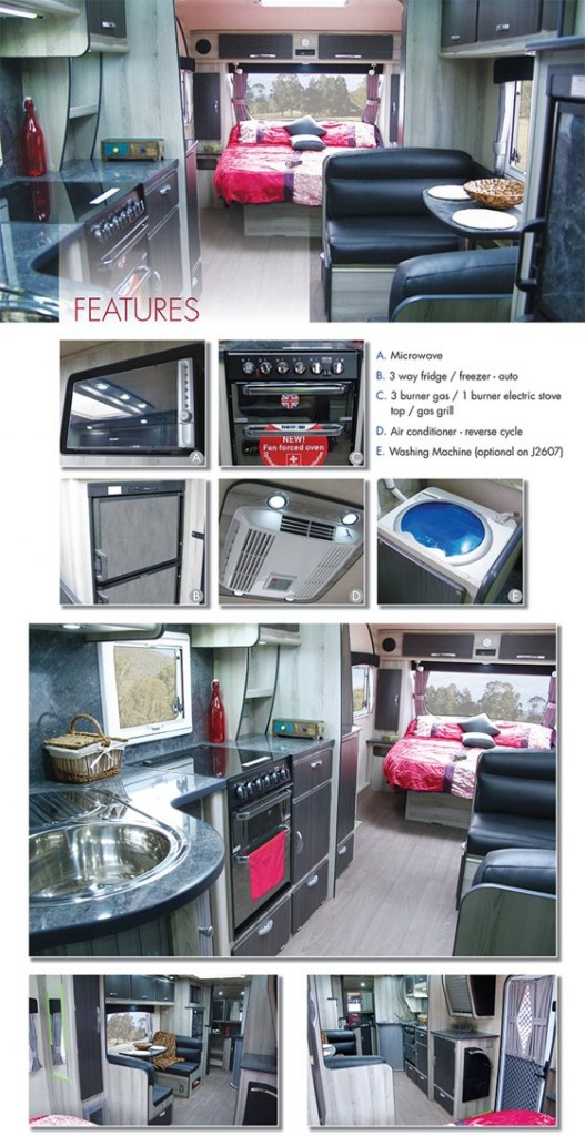 Tooradin J26 Series Caravan - Jurgens Caravans - On The Road Magazine