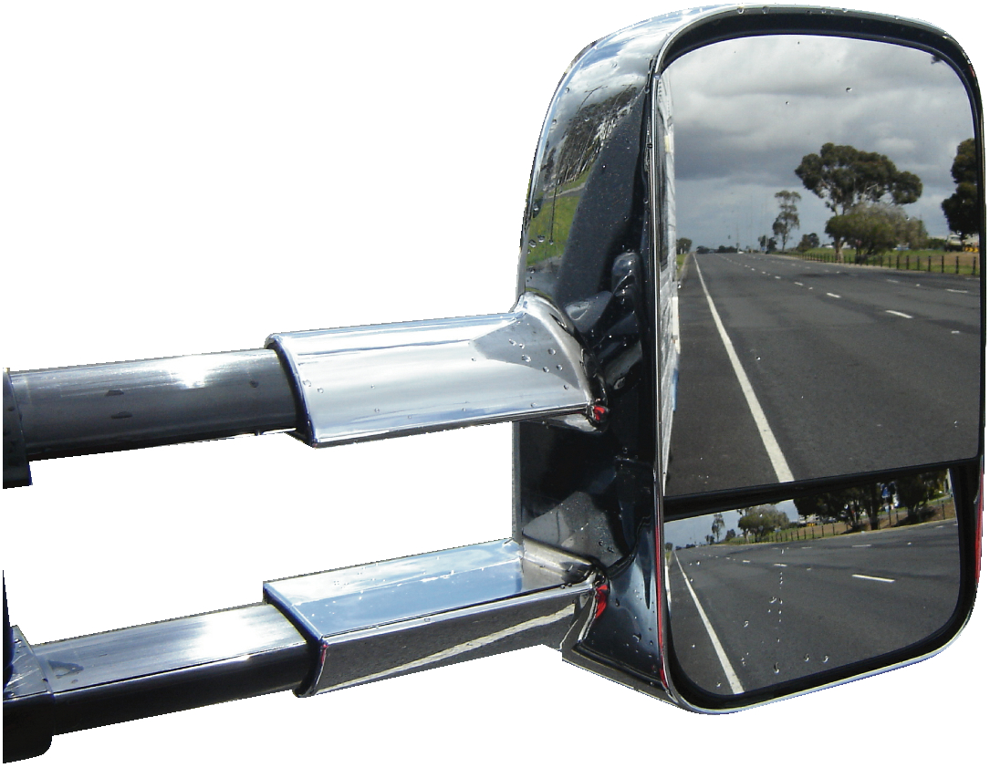 ClearView Towing Mirrors On The Road