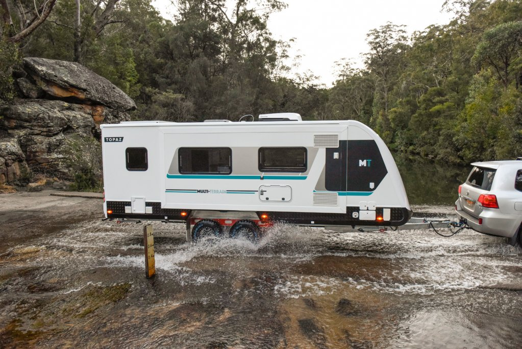 All Avida caravans are built tough to withstand Australian conditions. Always use your common sense when venturing off the blacktop.