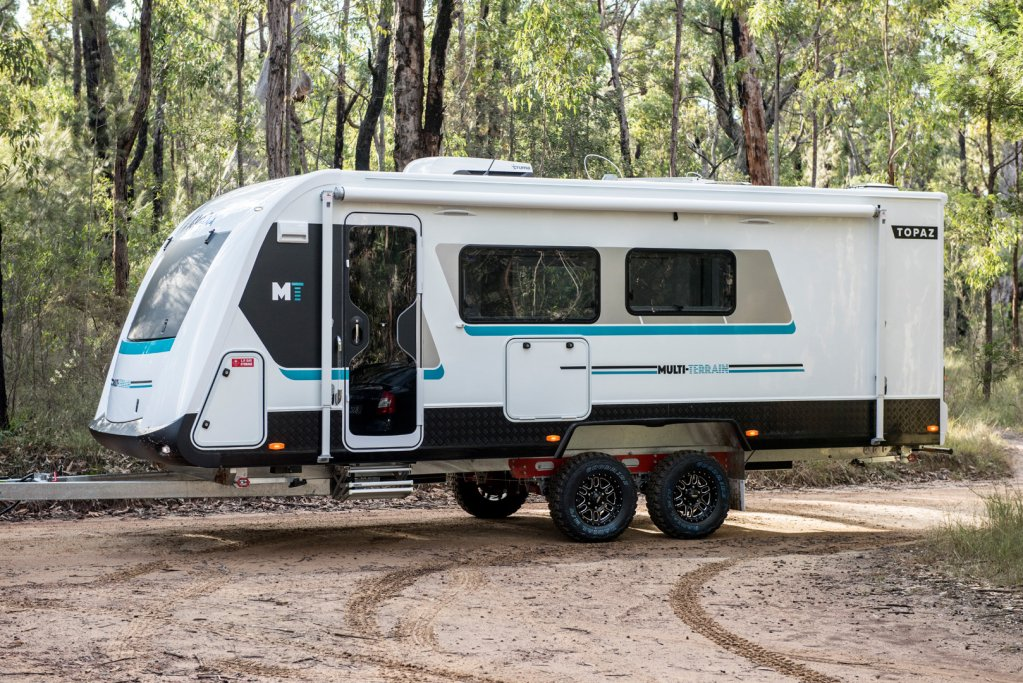 The CV7052SL Avida Topaz Caravan standing strong and proud having been built by Avida in Australia for Australian conditions.