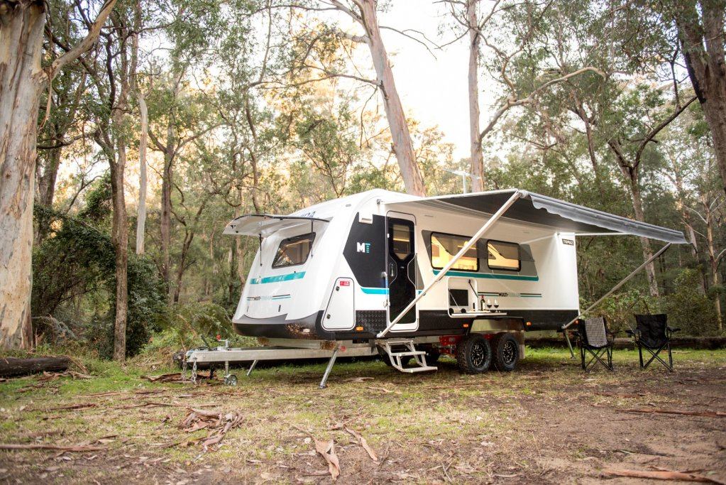 Pull up at your favourite spot. Grab the camp chairs and extend the awning. Ahh, the serenity.