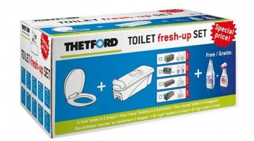New Toilet Fresh-Up Set