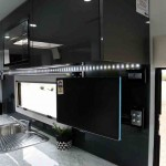 A practical kitchen is a feature in this van.