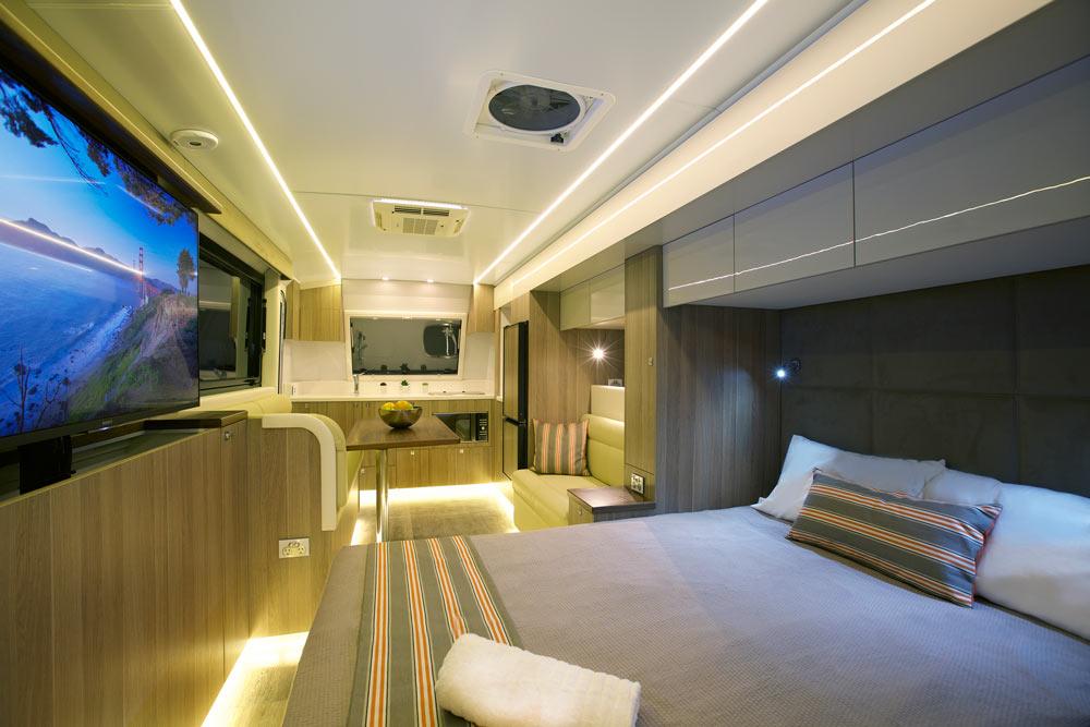 Soul 22 Caravan Interior