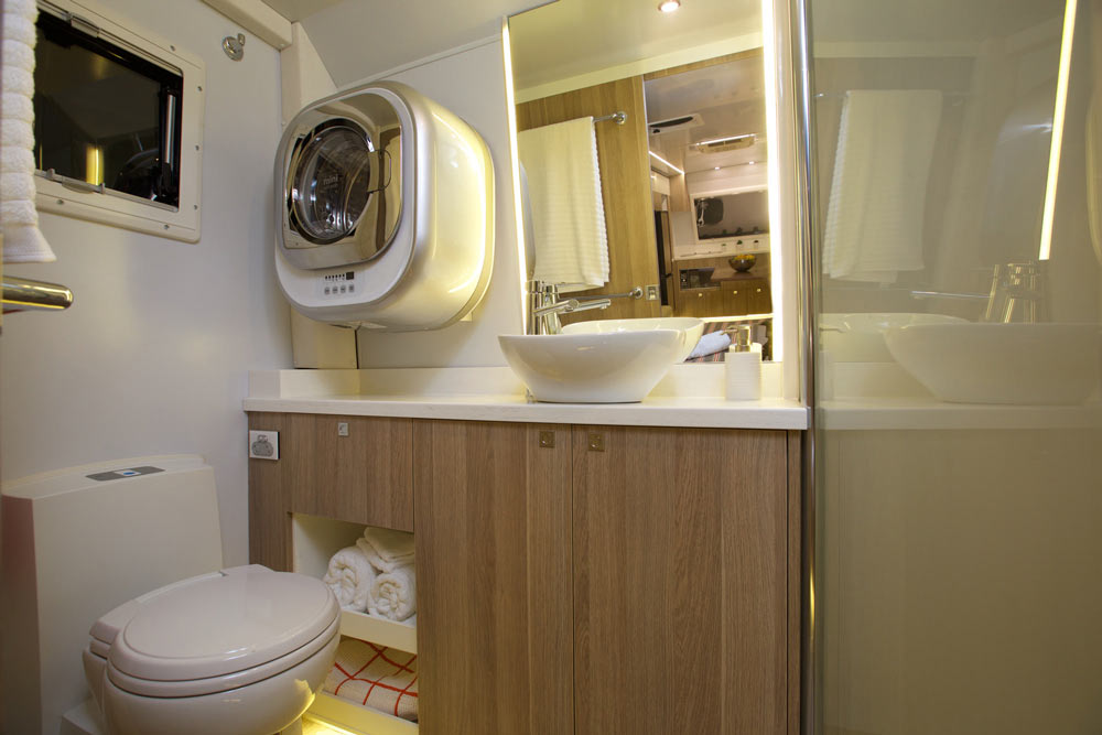 Soul 22 Caravan Bathroom