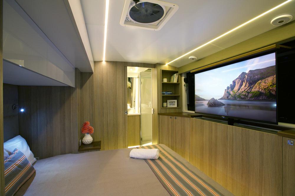 Soul 22 Caravan Bedroom