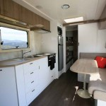 Goldstream RV Rhino Family Van dining