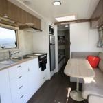 Goldstream RV Rhino Family Van interior