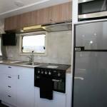Goldstream RV Rhino Family Van kitchen