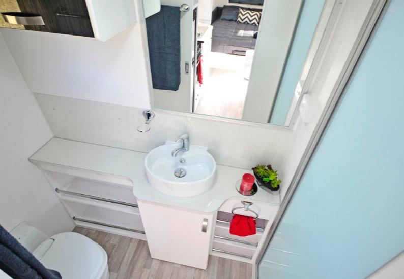 Bravo Nova Caravan toilet