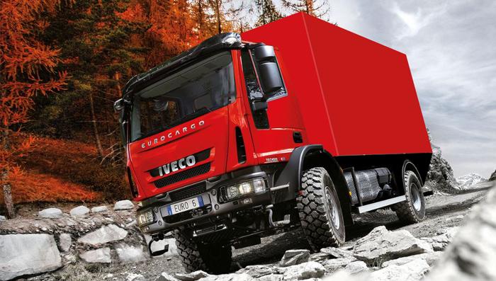 SLR - Iveco Eurocargo 4x4