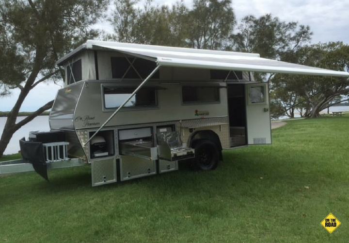 North Coast Campers external side view