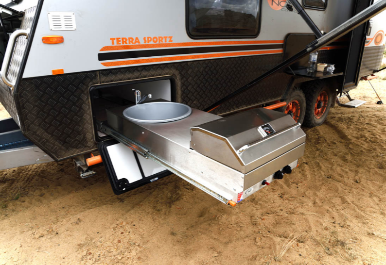 Terra Sportz Nova Caravan portable sink and range