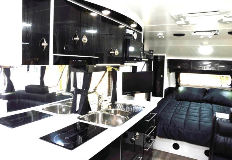 Terra Sportz Nova Caravan interior