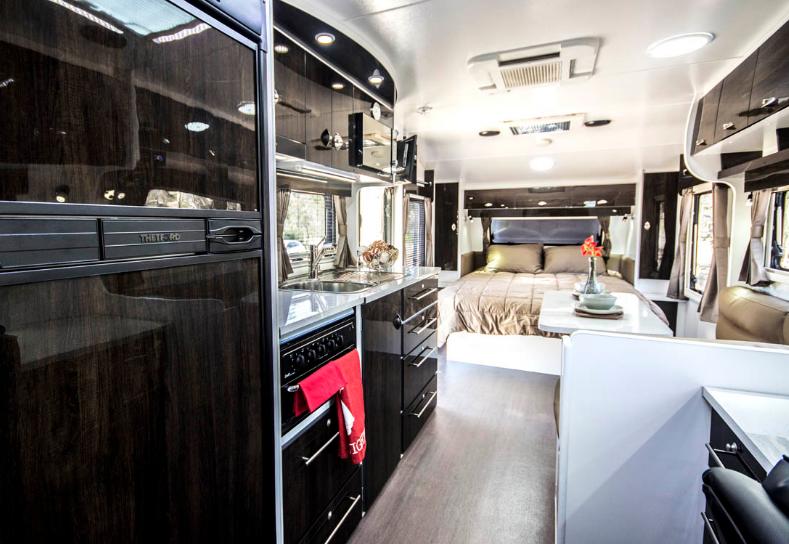 Vita Nova Caravan interior