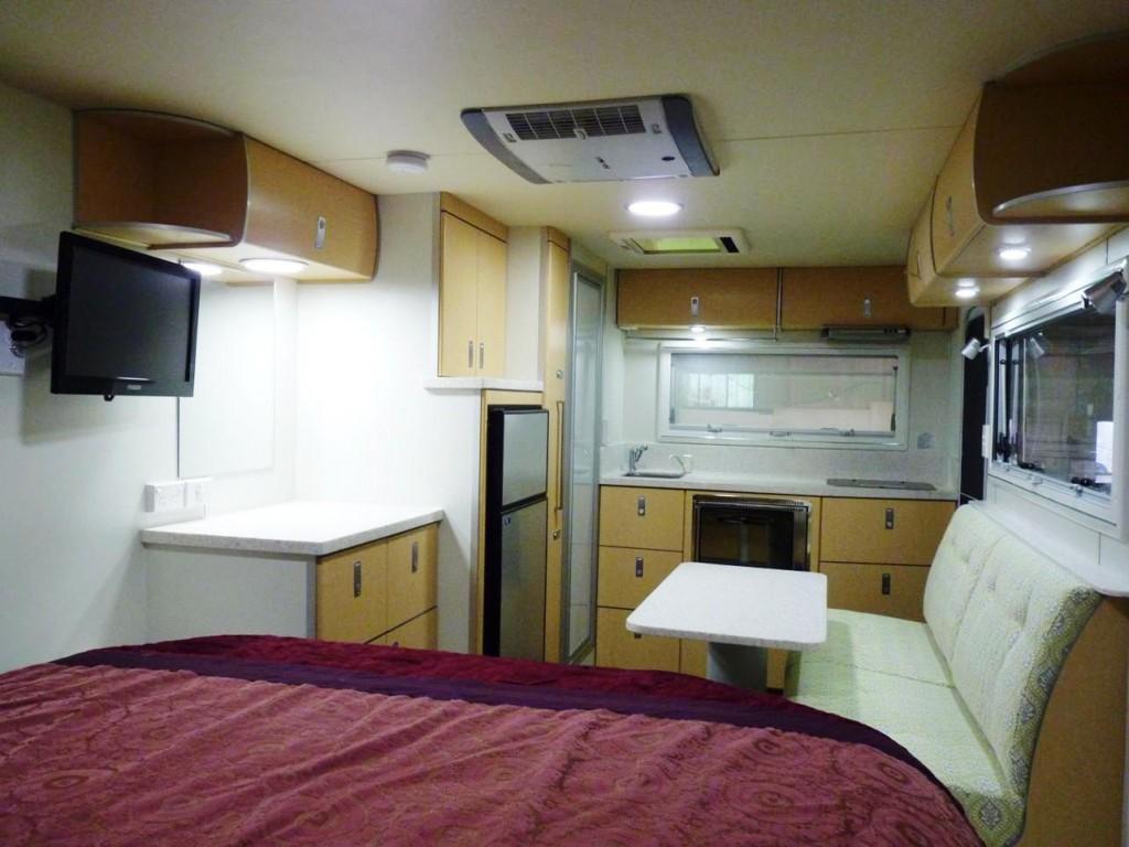 Discoverer 1600 Off Road Caravan interior