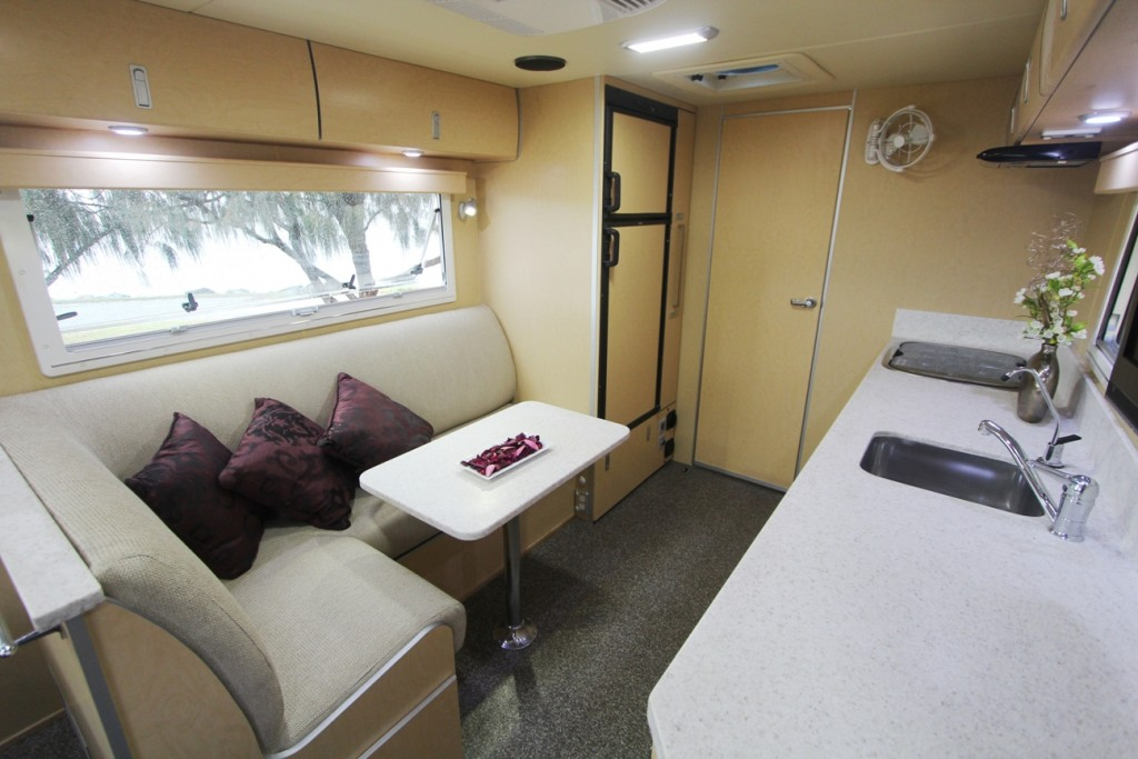 Discoverer 2100 Off Road Caravan interior