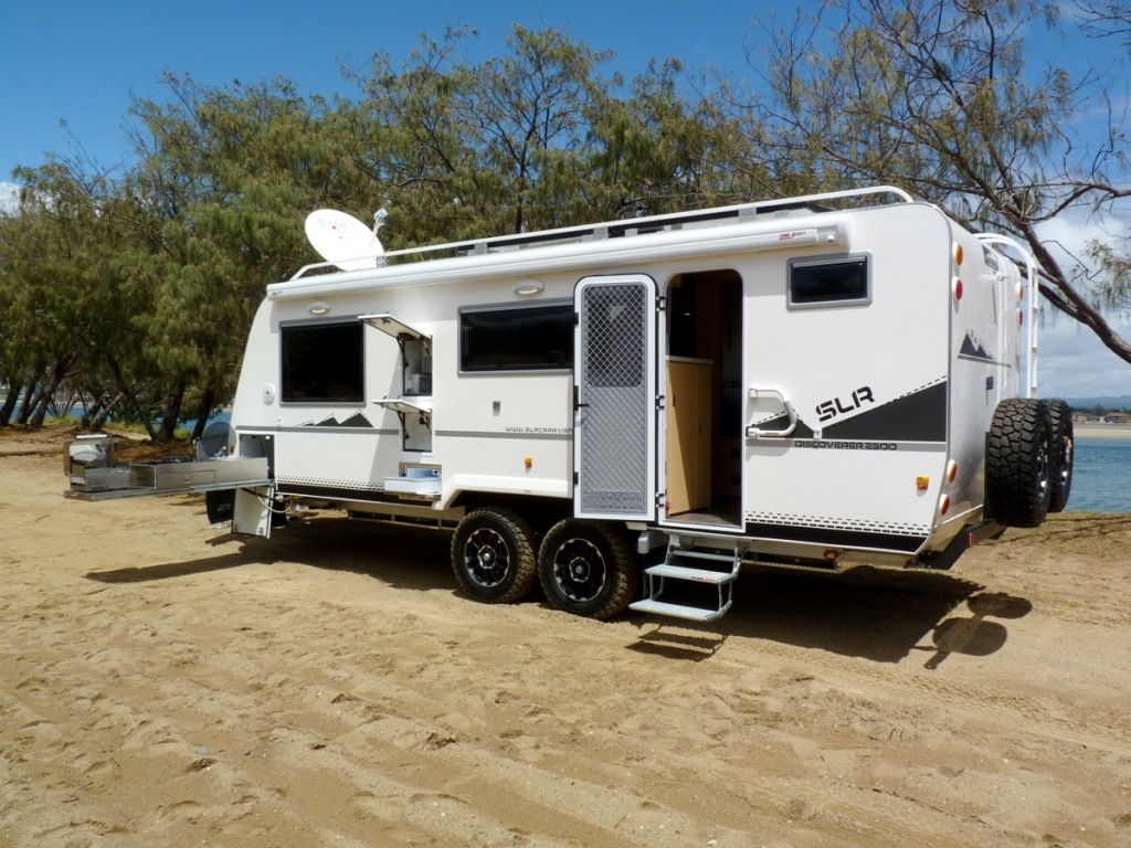 Slr Caravans And Motorhomes On The Road