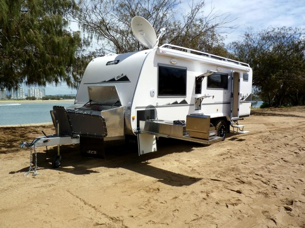 Discoverer 2300 Off Road Caravan exterior