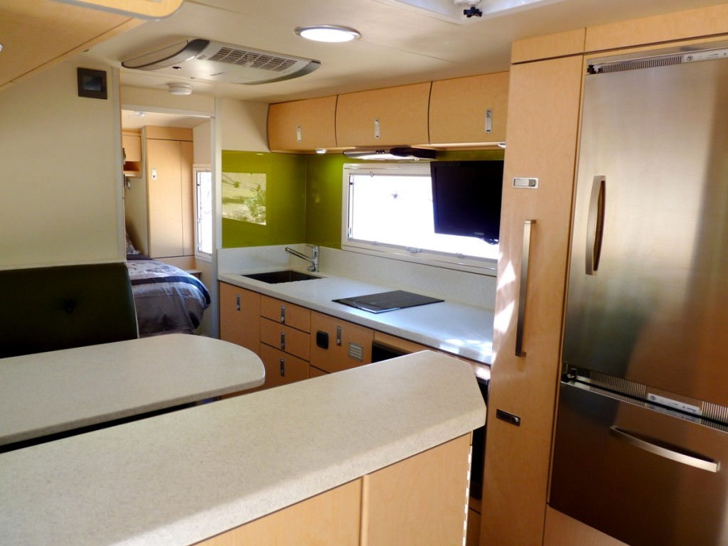 Discoverer 2300 Off Road Caravan interior