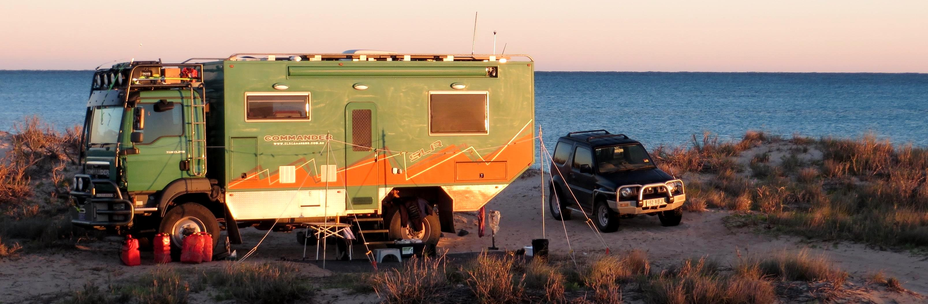 slr man commander 4x4 motorhome expedition vehicle