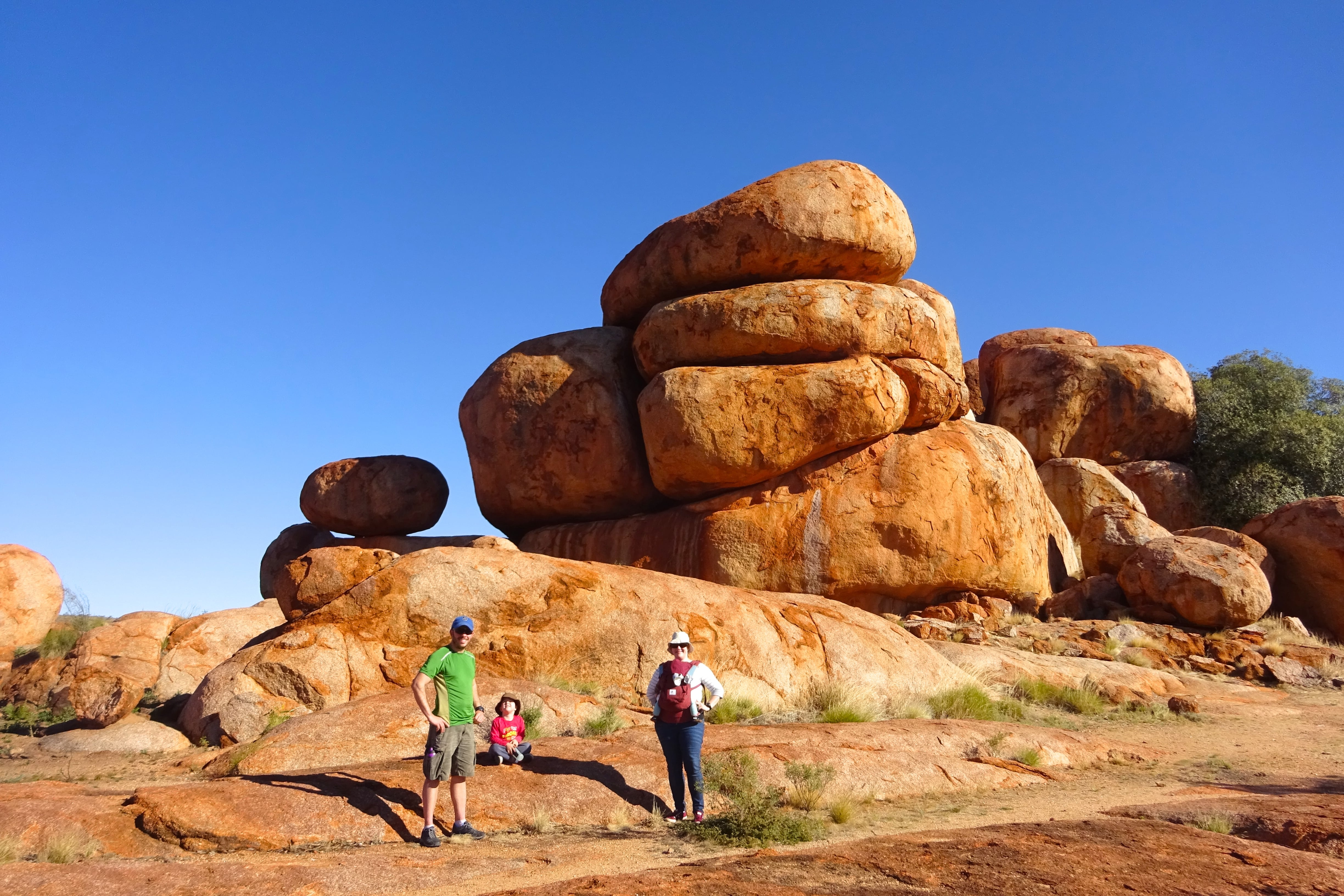 Devils Marbles On The Road