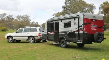 Unique Gator  Luxury Off Road Caravans  JB Caravans Australia