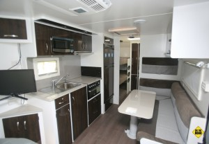 Nova Family Escape kitchenette