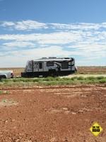 The Rhino out on Sturt's Stony Desert.